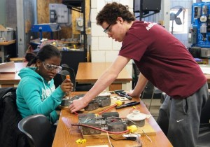 Somerville High's Career and Technical Education program trains a new generation of students for real-world success. Image via City of Somerville.