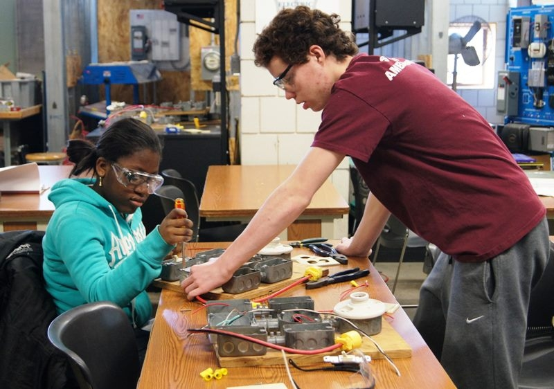 Somerville High's Career and Technical Education program shines. Image via City of Somerville.